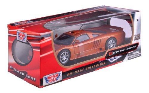 Richmond Toys 1:18 2004 Saleen S7 Die-Cast Collectors Model Car (Beryllium) by Richmond - Hilltop Richmond