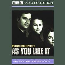 BBC Radio Shakespeare: As You Like It (Dramatized) Performance Auteur(s) : William Shakespeare Narrateur(s) : Helena Bonham Carter, David Morrissey, Natasha Little, Full Cast
