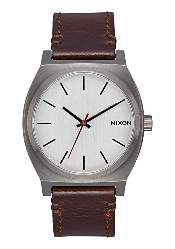 Nixon A045-2665 Time Teller Unisex Watch Dark Brown 37mm Stainless Steel
