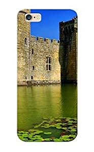 Fashion Case For Iphone 6 Plus- Bodiam Castle, England Defender Case Cover For Lovers