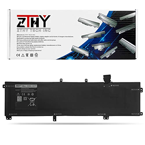ZTHY 245RR 91WH 11.1V 9-Cell Laptop Battery Replacement for