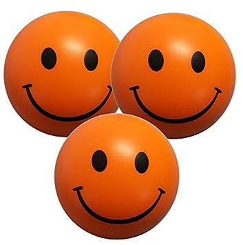 StressCHECK Pelota Anti Estrés - 3 x Bola Anti-Estrés Color ...