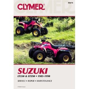 Suzuki ATV Service & Repair Manuals - Choose Your Model, LT230 & LT250 (85-90