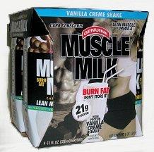 Cytosport - Muscle Milk Rtd Banana Creme, 4 drinks
