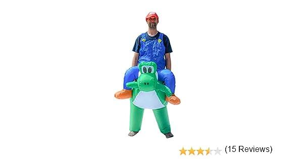ALEKO ICP03 Disfraz Inflable para Fiesta de Halloween – Mario ...