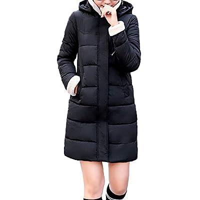 Coats For Women On Sale, Clearance!! Farjing Women Winter Sale Warm Jacket Coat Hooded Thick Warm Slim Long Overcoat