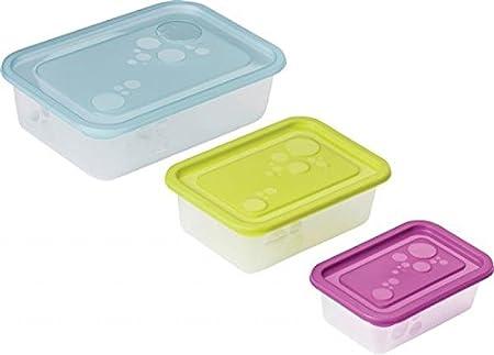 Congelación latas, congelador latas, 9 piezas formado por 3 pieza ...
