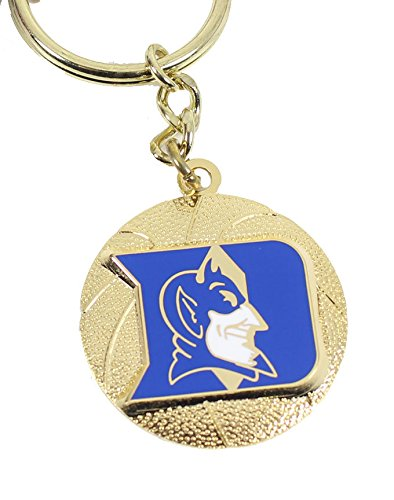 NCAA Duke CCP-KT-827-14 Spinning Keychain, One Size, Multicolor