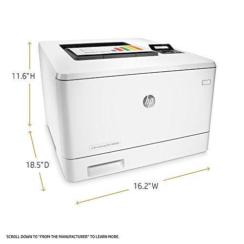 HP Laserjet Pro M452dn Color Printer, (CF389A) by HP (Image #2)