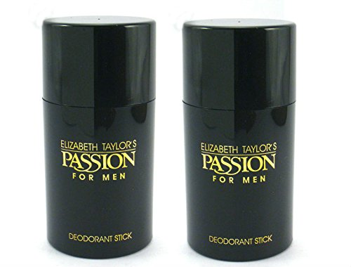 Passion for Men by Elizabeth Taylor Deodorant Stick 2.6 oz – Pack of 2 For Sale