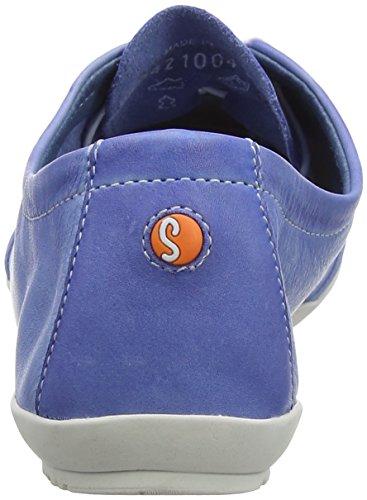 Softinos Ops421sof Washed, Richelieus Femme Blau (Lavender Blue)