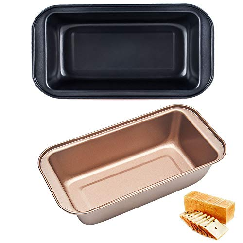 Gsyamh Baking Toast Box Praktische Carbon Steel Bakpan Anti-aanbak Koolstofstaal Brood Pan Toast Brownie Mold Zeer…