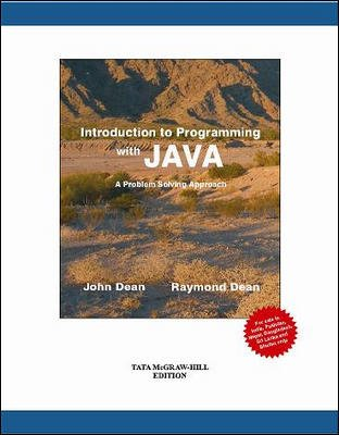 Download Introduction to Programming with Java: A Problem Solving Approach pdf epub