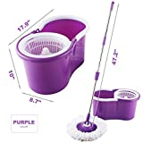 360° Rotating Head Easy Magic Floor Mop Bucket 2