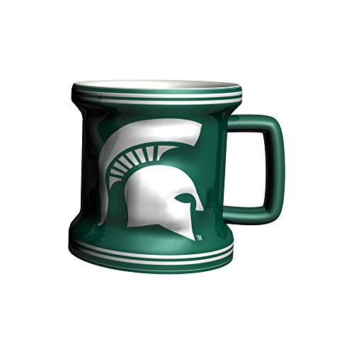 NCAA Michigan State Spartans Sculpted Mini Mug, 2-ounce