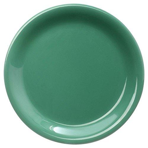 - Carlisle 3300609 Sierrus Salad Plate - Narrow Rim 7-1/4'' - Meadow Green (48 PER CASE)