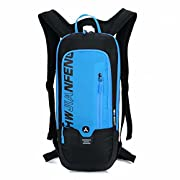 WINDCHASER Kleiner Fahrradrucksack Trinkrucksack Wasserdicht Rucksäcke für Wandern Klettern, Fahrradfahren, Laufsport…