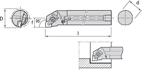 Ingersoll-Rand - A20U-TCLNR-4 - Index Bore Bar, Coolant Thur, A20U-TCLNR-4 by Ingersoll-Rand