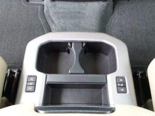 Center Console Cup Holder Insert Divider Barier Partition Separator for TOYOTA TACOMA SR5 TRD PRO 4x4 Limited Platinum 2005 2006 2007 2008 2009 2010 2011 2012 2013 2014 2015 /& TOYOTA SEQUOIA 2008-2019