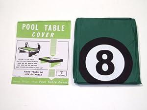 Abdeckung für Pool-Billardtisch mit Aufdruck der Schwarzen Acht, geeignet für...