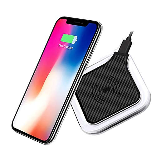 Amazon com: Qi Certified QPad Fast Wireless Charger for LG G7 ThinQ