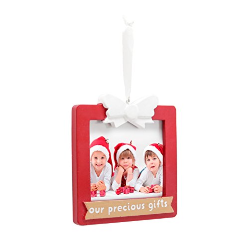 Tiny Ideas Family Holiday Keepsake Photo Ornament, Our Precious Gifts