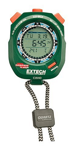 Extech CW40 Compass Thermometer Stopwatch