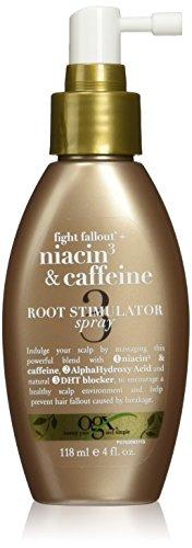 Organix Fight Fallout Plus Root Stimulator Spray, Niacin & Caffeine, 4 Fluid Ounce (Caffeine Spray compare prices)