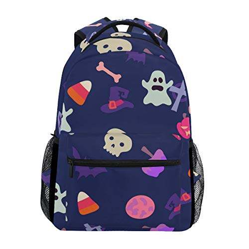 Fashion Laptop Backpack,Cartoon Halloween Shoulder Bag for High School/College Student,Travel Bag,14Inch Laptop Sleeve,Perfect for Men and -