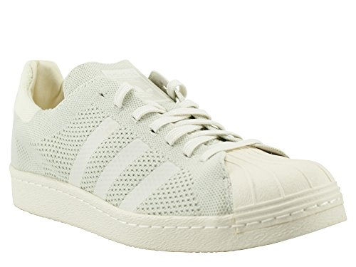 Baskets 80's Primeknit Homme beige Blanc Mode Adidas Superstar Axv6ww