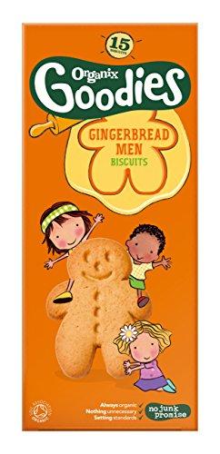 Organix 12 Month Gingerbread Men 15 Pack 135g