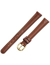Voguestrap TX60712BN Allstrap 12mm Brown Padded Leather Watchband