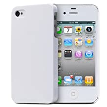 Fosmon Ultra Thin Air Jacket Skin Case for Apple iPhone 4S / 4 (White)