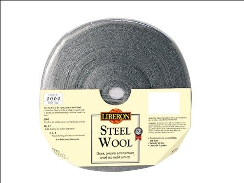 Liberon SW001KG Grade 0 Steel Wool, 1Kg LIBSW01KG