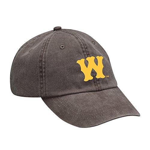 (Western Michigan Broncos Vintage Baseball W Twill Adjustable Hat - OS - Espresso)