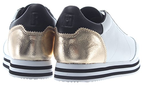 WPLT Shoes Sneakers Leather RMSZLK01 Minkoff Gold Susanna Women's Rebecca White CwqxXUR6E