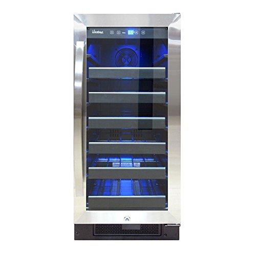 Vinotemp VT-32SBB Wine Cooler, (Vinotemp Stainless Steel Chiller)