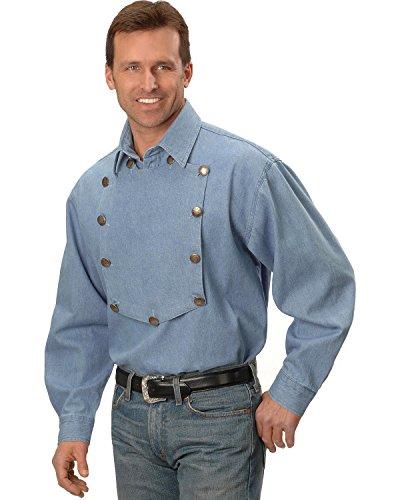 rangewear-by-scully-mens-rangewear-frontier-engineer-shirt-blue-x-large
