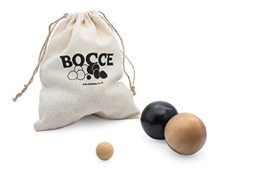 (Bocce Ball: Handmade & Organic 3D Brain Teaser Wooden Puzzle for Adults from SiamMandalay with SM Gift Box(Pictured))