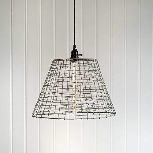 wire basket light - 8