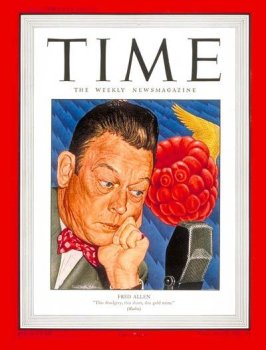 Fred Allen / Time Cover: April 07, 1947, Art Poster by Time Magazine