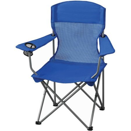 Ozark Trail Basic Mesh Chair. Blue