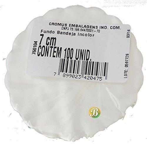 Amazon.com: Tapetinho De Brigadeiro / Intermediate Plastic Liner for Candies (7 cm, Yellow Lace / Amarelo Renda): Kitchen & Dining