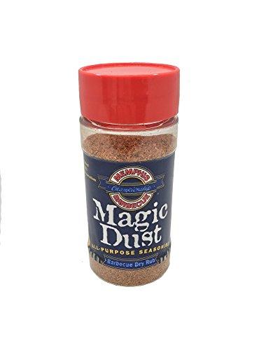 The Origional Memphis Championship Barbecue Magic Dust All-Purpose Seasoning Barbecue Dry Rub (Mikes Bbq Rubs)