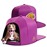 NAP CAP NBA Los Angeles Lakers Team Indoor Pet Bed, Purple