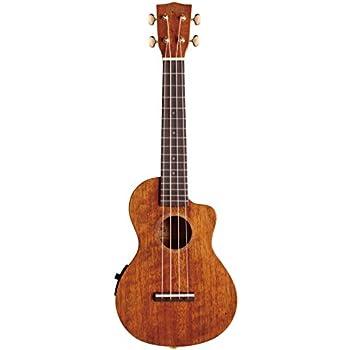 mahalo hano elite series mh2ce acoustic electric concert ukulele vintage natural. Black Bedroom Furniture Sets. Home Design Ideas