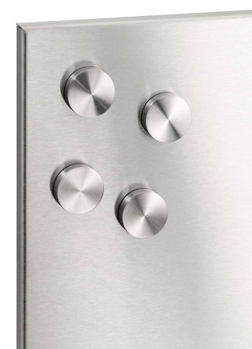 Magnet Muro (Blomus 66784 Stainless Steel Muro Magnets, Set of 4)