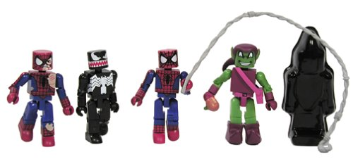Classic Green Goblin Damaged Spider-man Venom Marvel Minimates Marvel Universe Spider-man