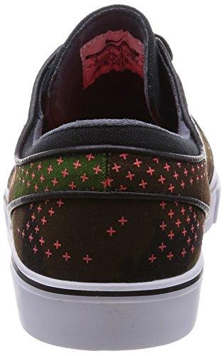 Nike Zoom Stefan Janoski Herren Skateboardschuhe Leguan, weiß-hell Crimson-blk