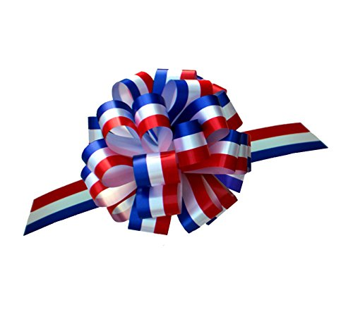Red, White, and Blue Pull Bows - 9